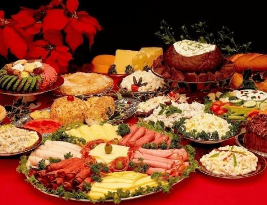 Закуски на праздничный стол, рецепты