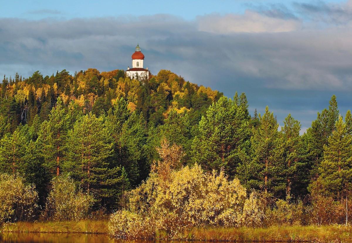 Соловецкие острова Секирная гора