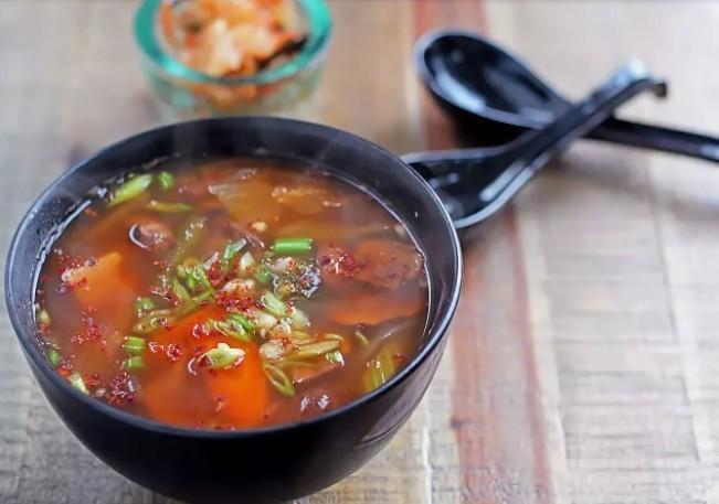 как приготовить суп из кимчи