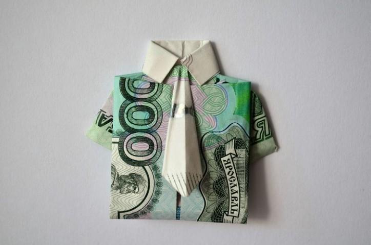 Как подарить деньги мужчине оригинально