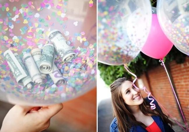 Как подарить деньги оригинально женщине