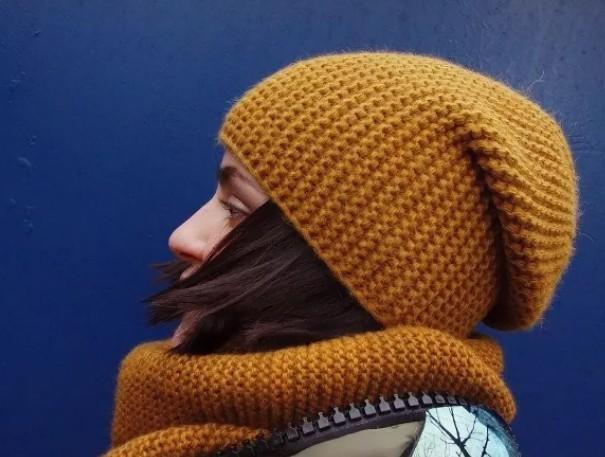 Как связать шапку бини спицами для начинающих