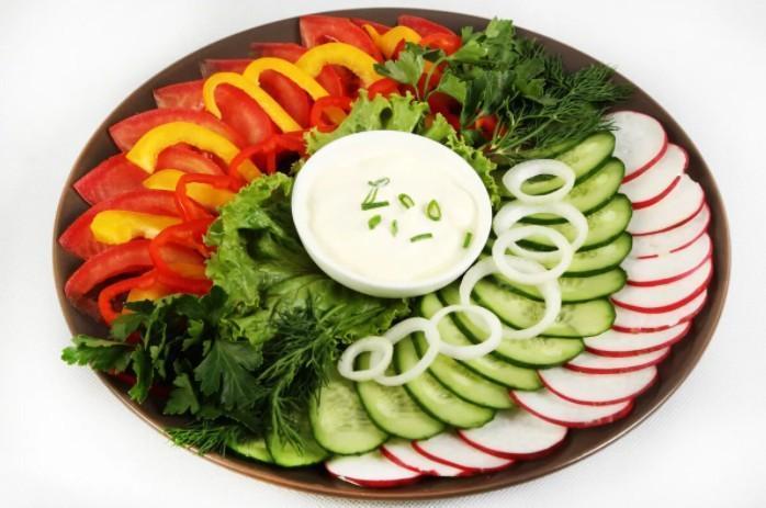Нарезка овощей красиво фото