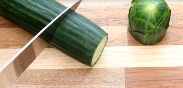 Как сделать красивую нарезку из овощей