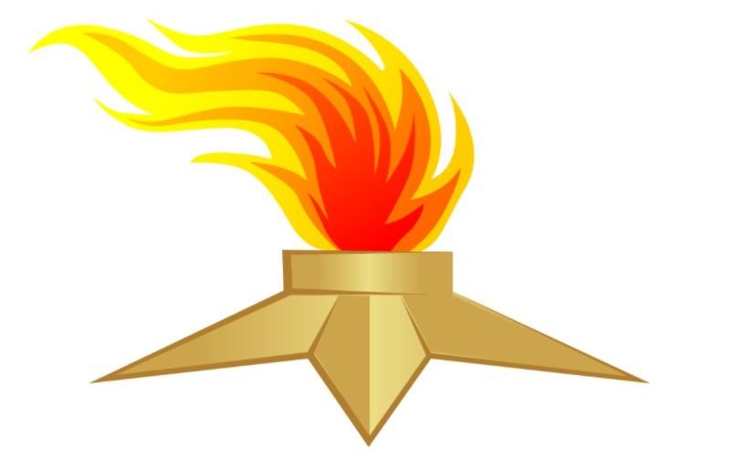 Вечный огонь шаблон