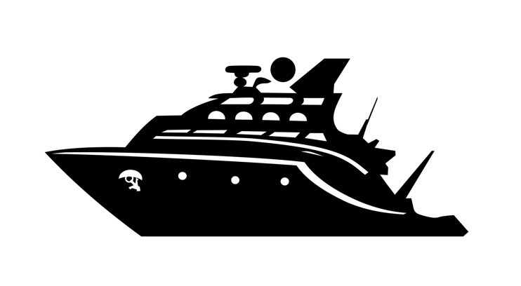 Военный корабль шаблон