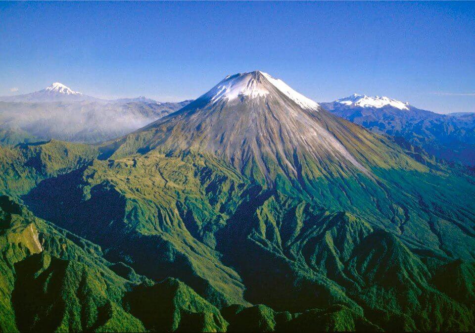Крупнейшие вулканы Земли - Сангай