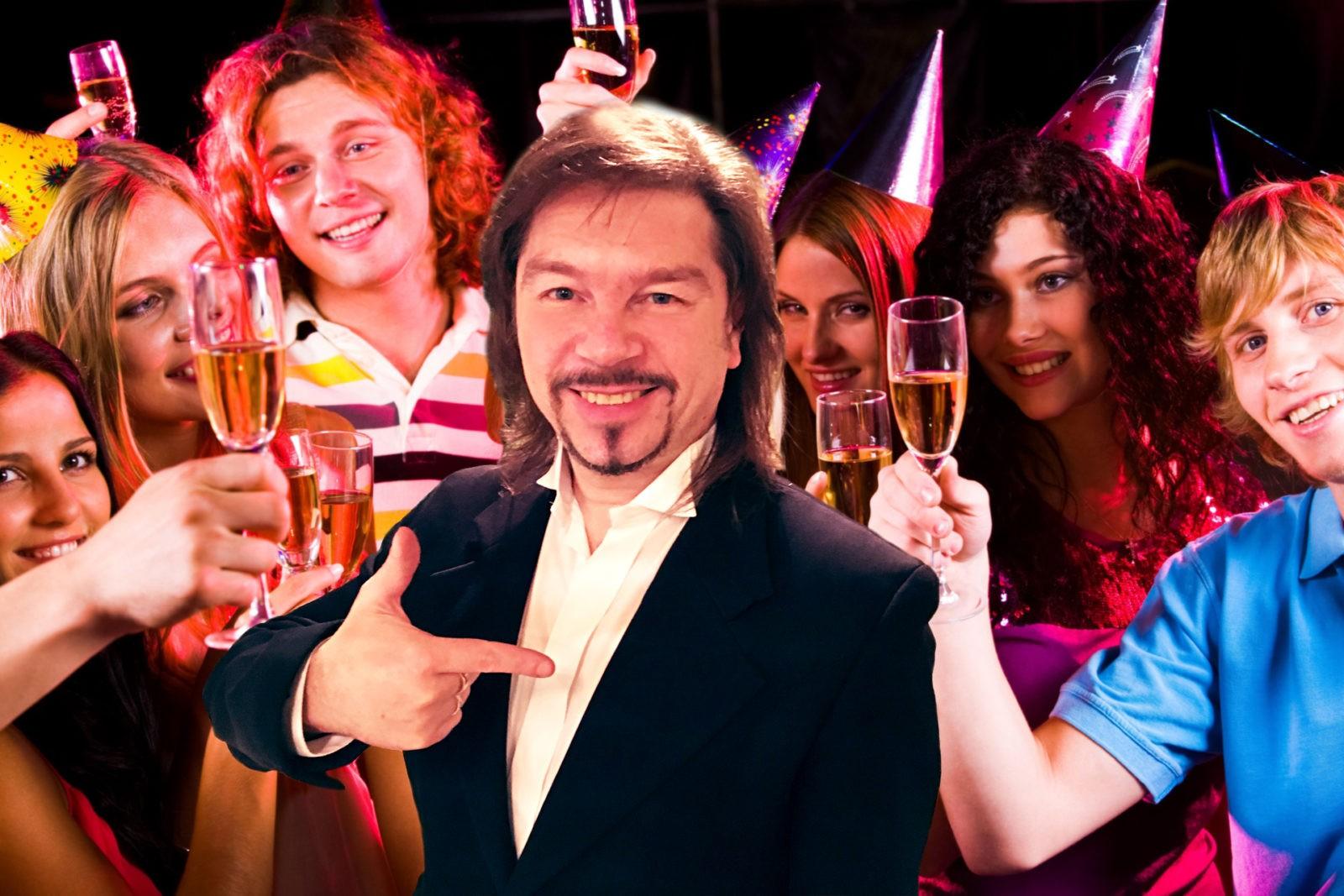 Сценки поздравление на день рождения мужчине