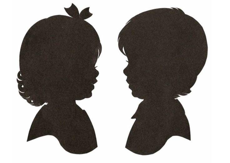 Трафареты на окна 8 марта: силуэты