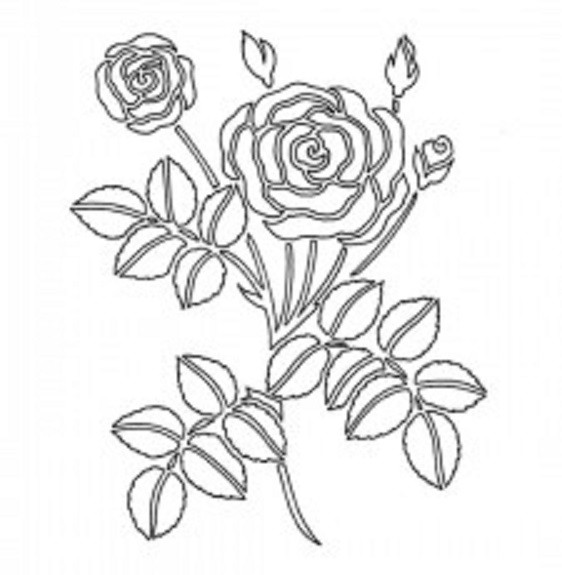 Шаблон 8 марта для вырезания: цветы