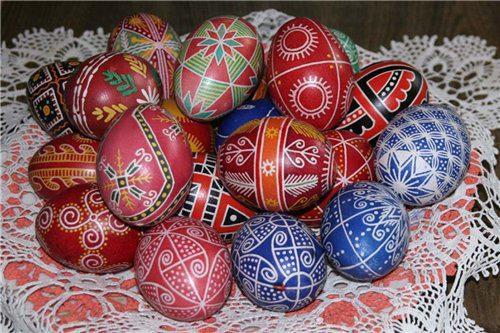 Что такое яйца писанки