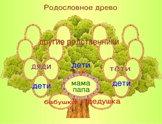 Составить родословную семьи 2 класс окружающий мир. Проект родословная моей семьи. Родственные связи членов одной семьи. Родословное дерево шаблон.
