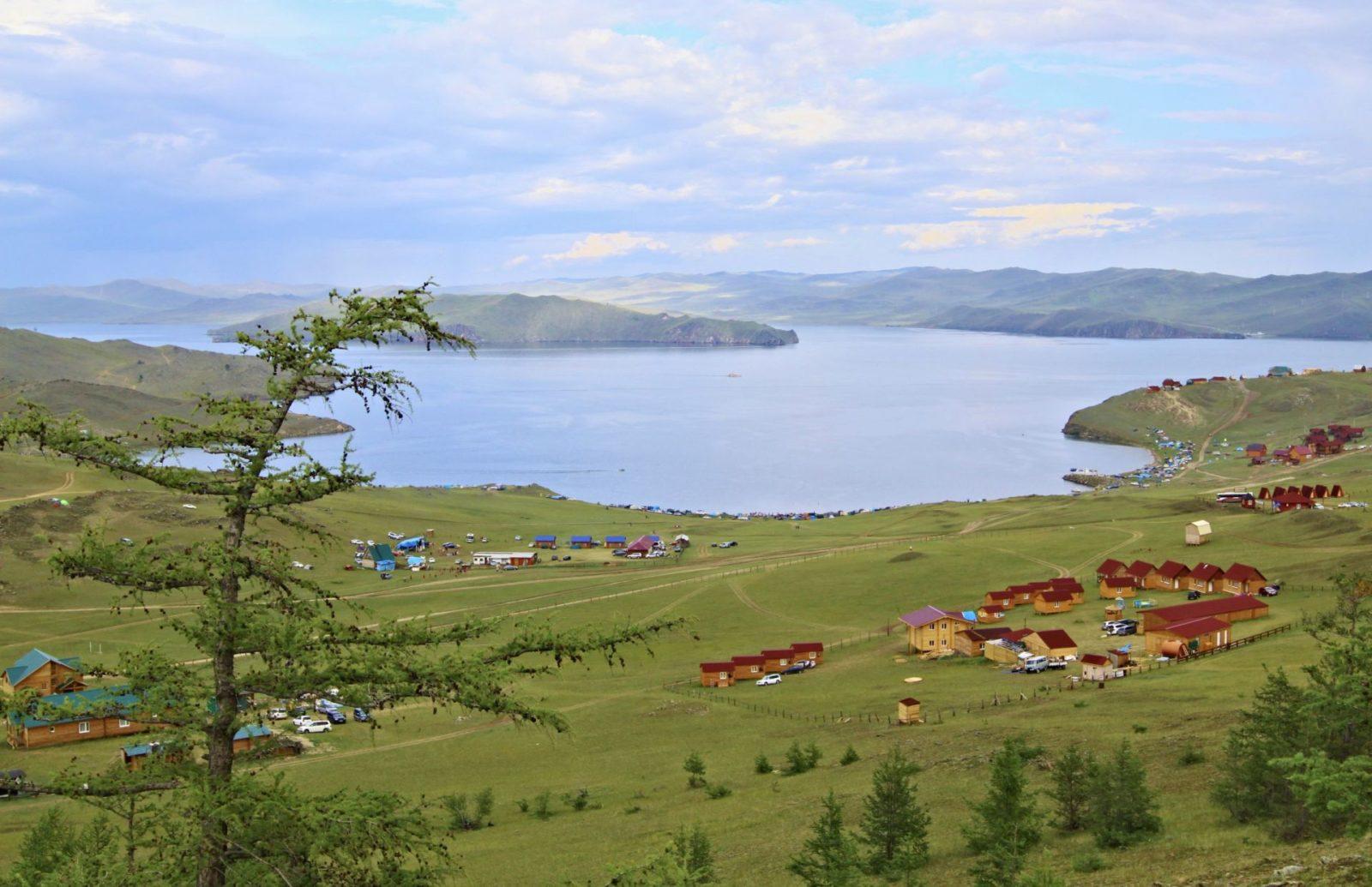 Отдых озеро Байкал летом