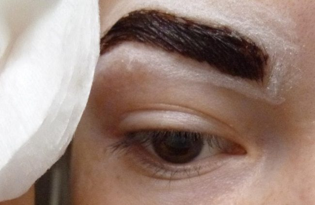 Покрасить брови хной в домашних условиях пошагово с фото